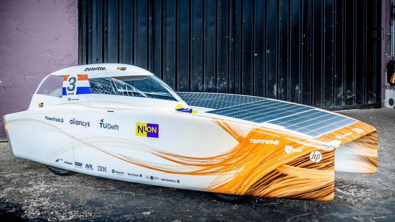 Auto op zonne-energie