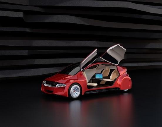auto van de toekomst1   De auto's van de toekomst, gebaseerd op de trends van vandaag