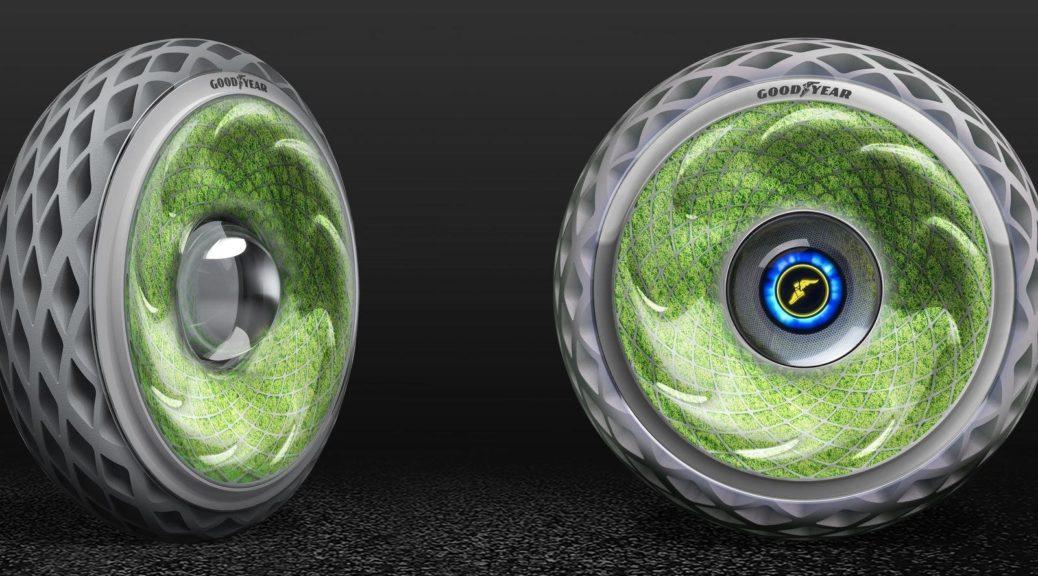 Goodyear Oxygene | De Toekomst van de Auto-Industrie: Ademende Banden en Zonne Energie