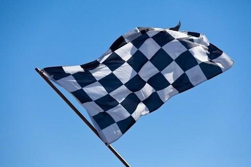 Finish vlag formule 1 | De Ins en Outs van Formule 1