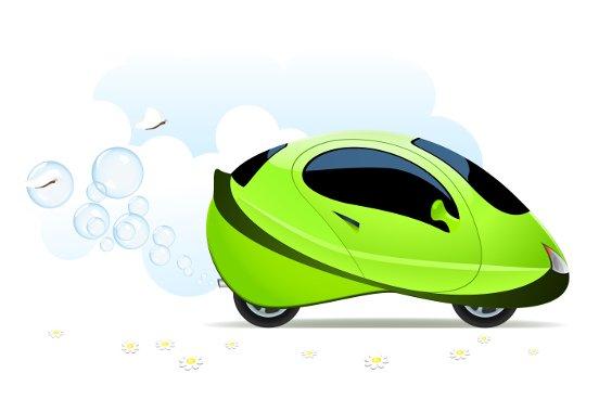 Ecologische waterstofauto