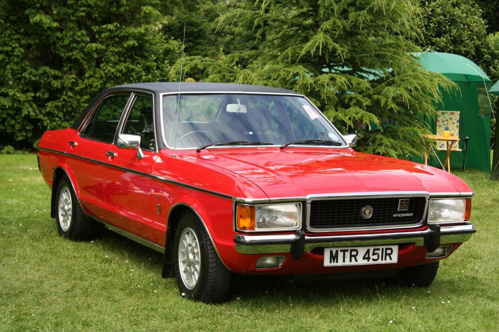 De eerste generatie Ford Granada voor de Europese markt. Ook wel de Ford Granada Mark I genoemd.