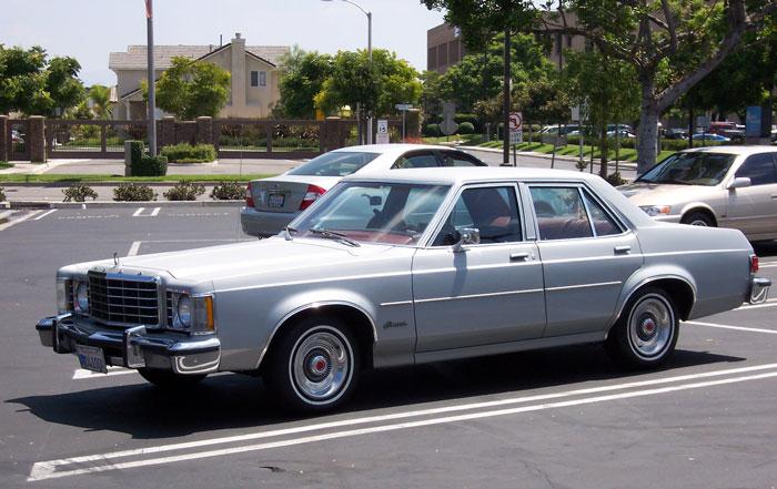 Noord-Amerikaanse Ford Granada